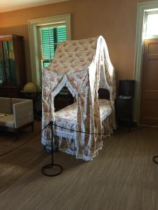 Photo of a guest bed at Montpelier