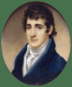 Portrait of John Payne Todd
