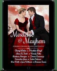 Book Cover: MISTLETOE & MAYHEM
