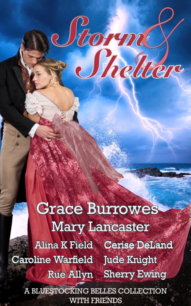 Book Cover: STORM & SHELTER, A Bluestocking Belles with Friends Collection
