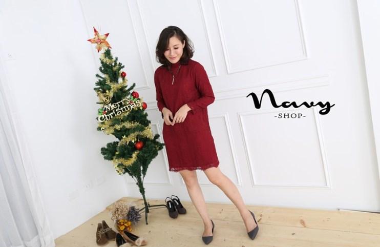【穿搭】讓人瘋狂著迷的洋裝~♥ NAVY雙娜