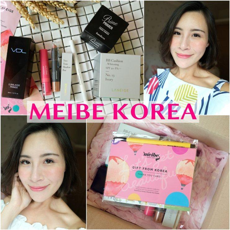 【彩妝】不用飛也可以買到100%來自韓國彩妝~MEIBE KOREA