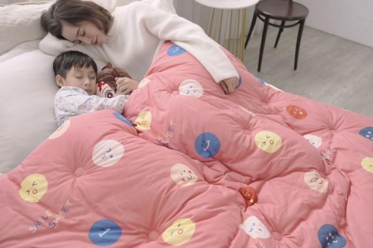 【團購】Goodnight寢具年熱銷萬條!!極佳的保暖防寒力暖暖羽絲絨被