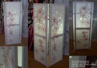 corp de iluminat decorativ Alina Manole