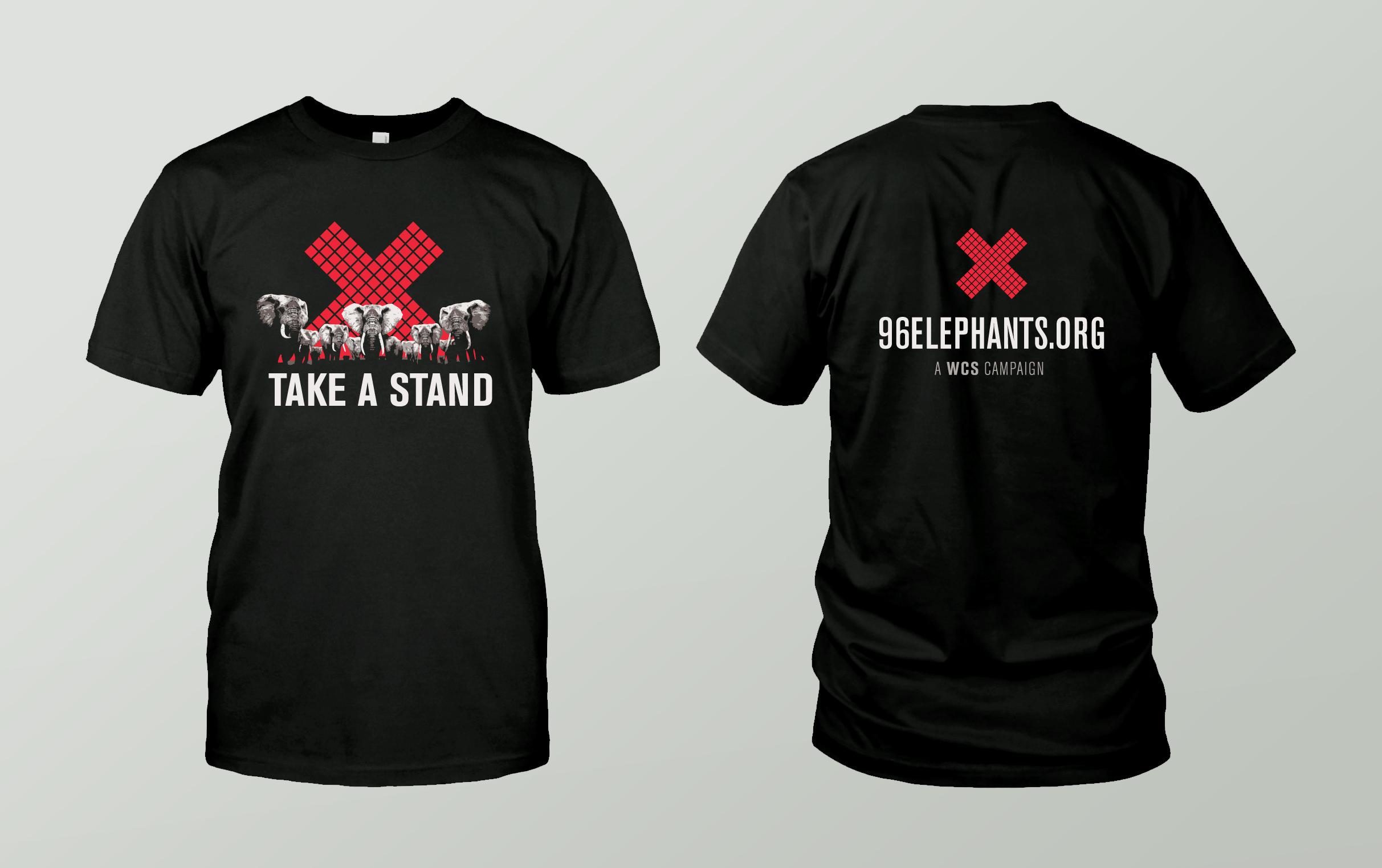 Take a Stand for Elephants Shirt