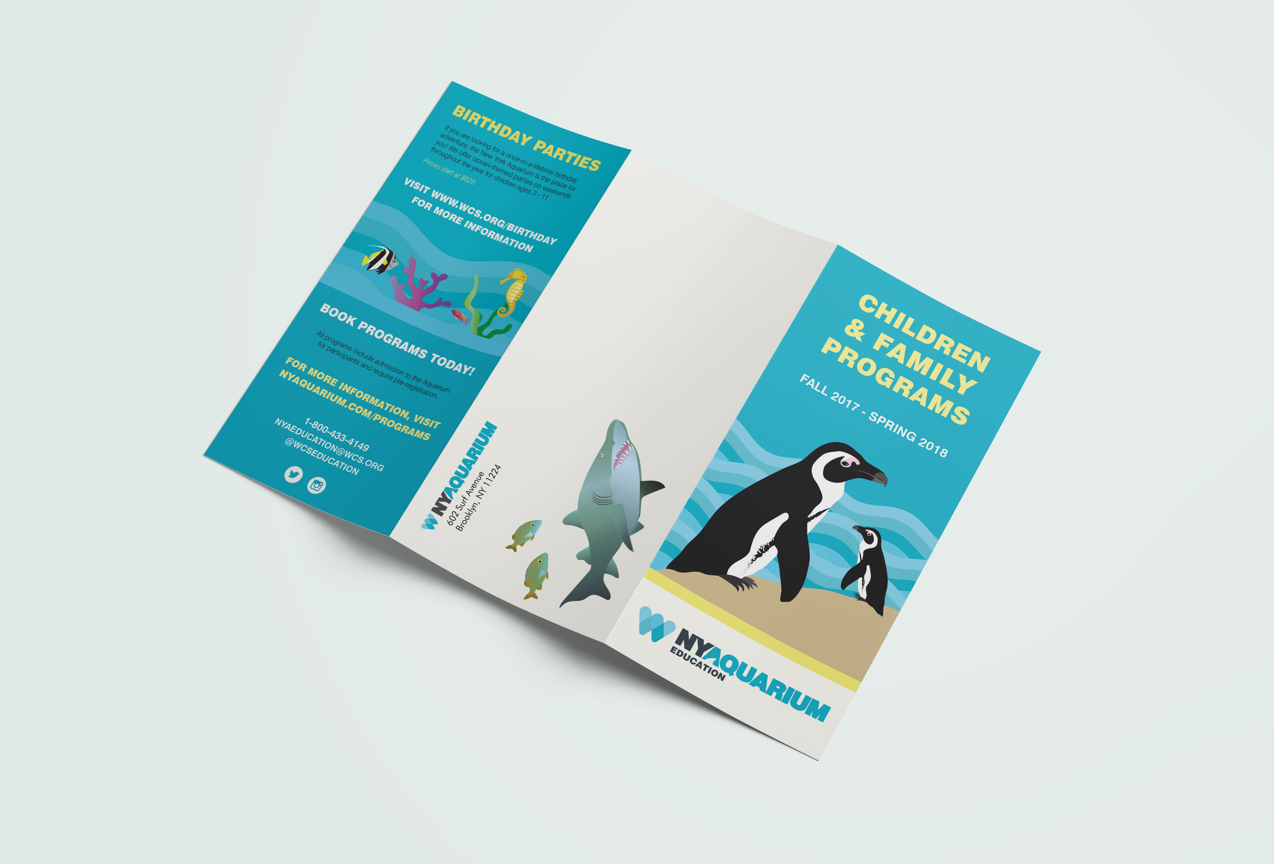 New York Aquarium Brochure
