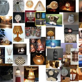 200 pcs lamp drawing for laser cutting collection