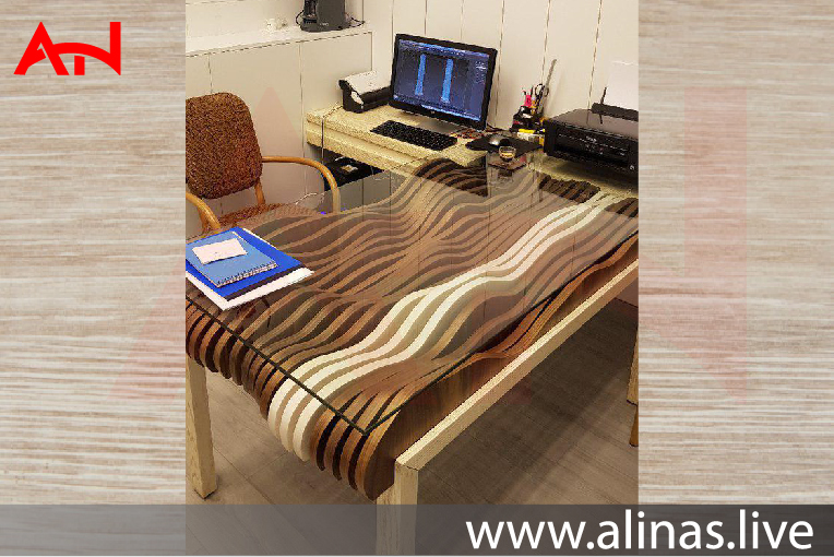 Read more about the article Wave Glass Table Autocad file