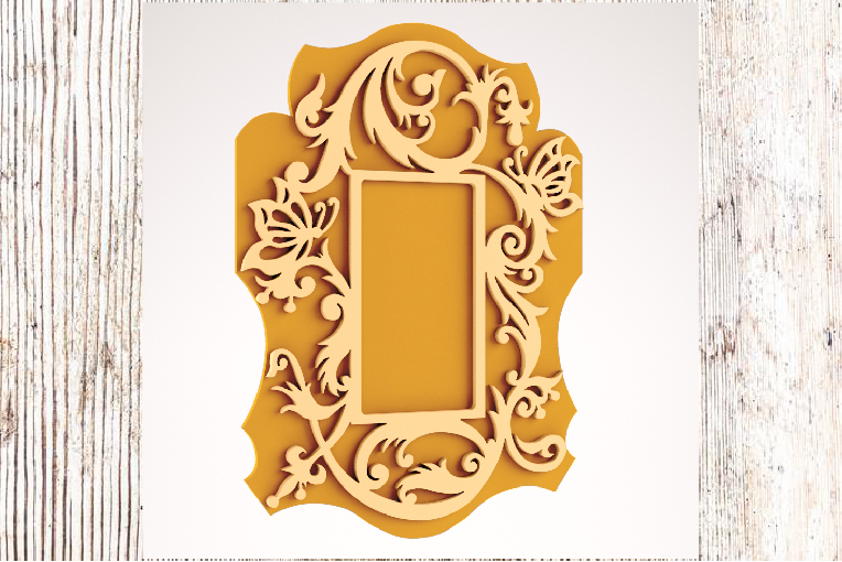 Read more about the article Laser Cut Wooden Photo Frame