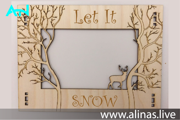 Read more about the article wooden photo frame design dxf