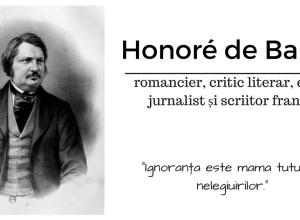 Honore de Balzac alinas.ro
