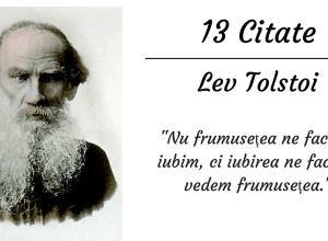 Citate de Lev Tolstoi alinas.ro
