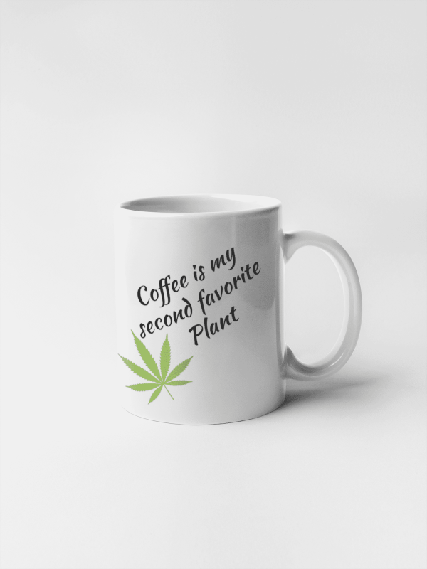 Cana personalizata Coffee is my second favorite plant