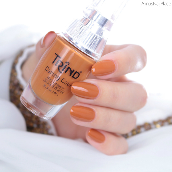 trind spicy saffron cc243 swatches und review