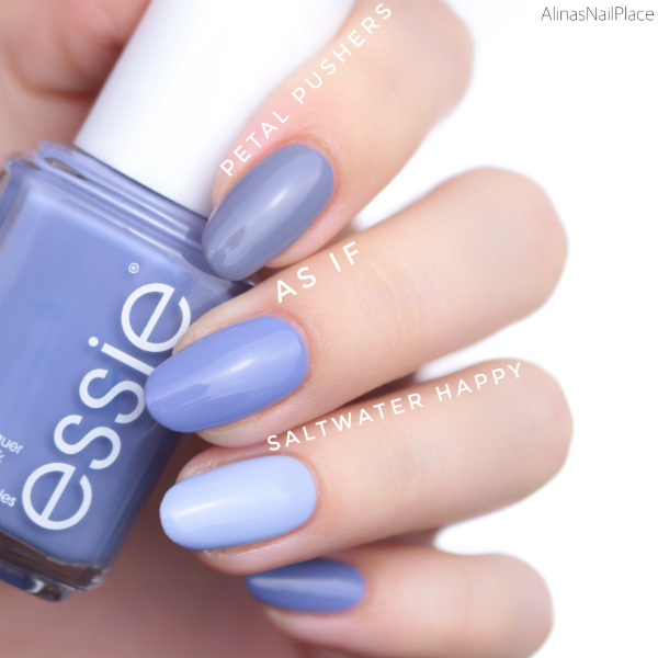 vergleich comparison essie herbstkollektion 2017 fall collection petal pushers as if saltwater happy