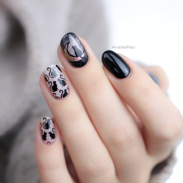 Moyou london, cat stamping, cat nailart, katzen nägel, sailormoon