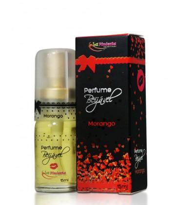 Perfume Beijável Morango 15ml La Pimienta