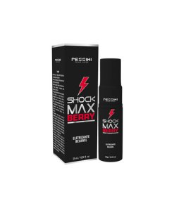 Shock Max Berry Gel Eletrizante Beijável Pessini