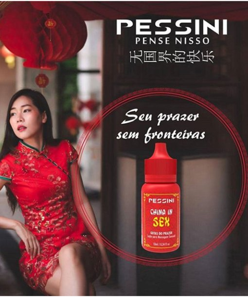 China in Sex Excitante em Gotas com Aquecimento - Pessini