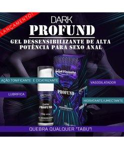 Dark Profund dessensibilizante de alta potência para sexo anal - la pimienta
