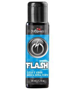 Flash - Gel Gela e Vibra - Menta Extra Forte - 35ml