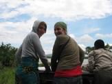 Sarah en Aline
