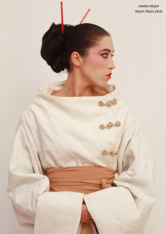 abrigo geisha detalle