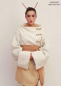 abrigo geisha front