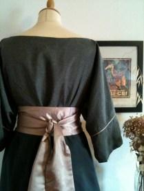 vestido back detalle
