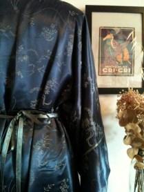 vestido oriene detalle back