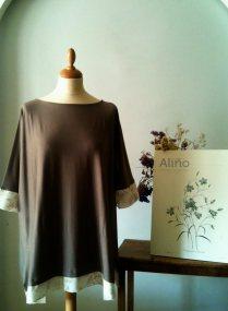 Gris Vestido Grey Dress 38€