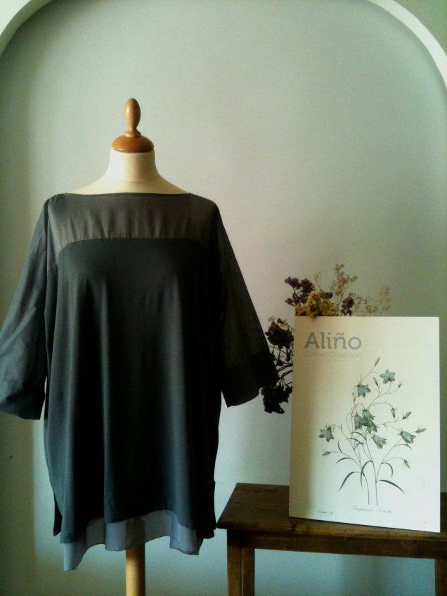 Blusa gris marengo Dark grey blouse 50€