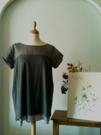 Camiseta gris marengo Dark grey shirt 45€