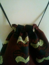 Bolso mochila Africano African bag backpack 22€