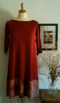 Vestido grana Maroon dress 65€