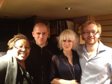 Recording with Jocelyn Brown, Soul Personna