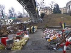 Beginning of Institutskaya St.
