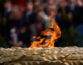 An eternal flame