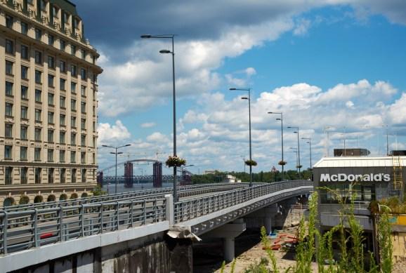 Bridge at Poshtova Square
