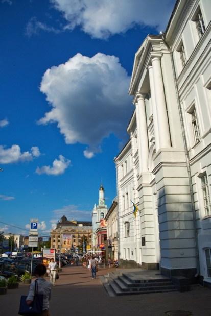 Kontraktova square