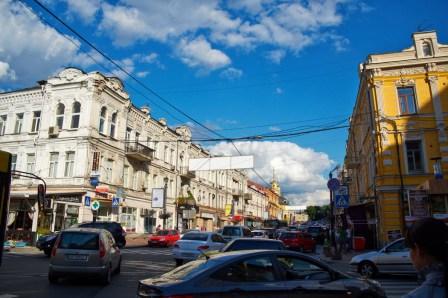 Petro Sagaydachnyi street (Podol district)