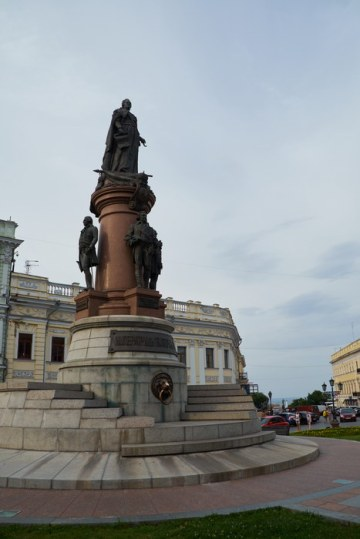 Odessa founders monument