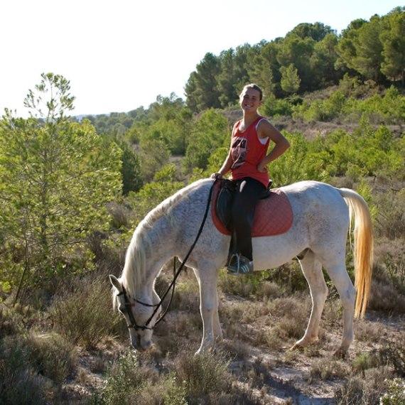 alicante paseo a caballo