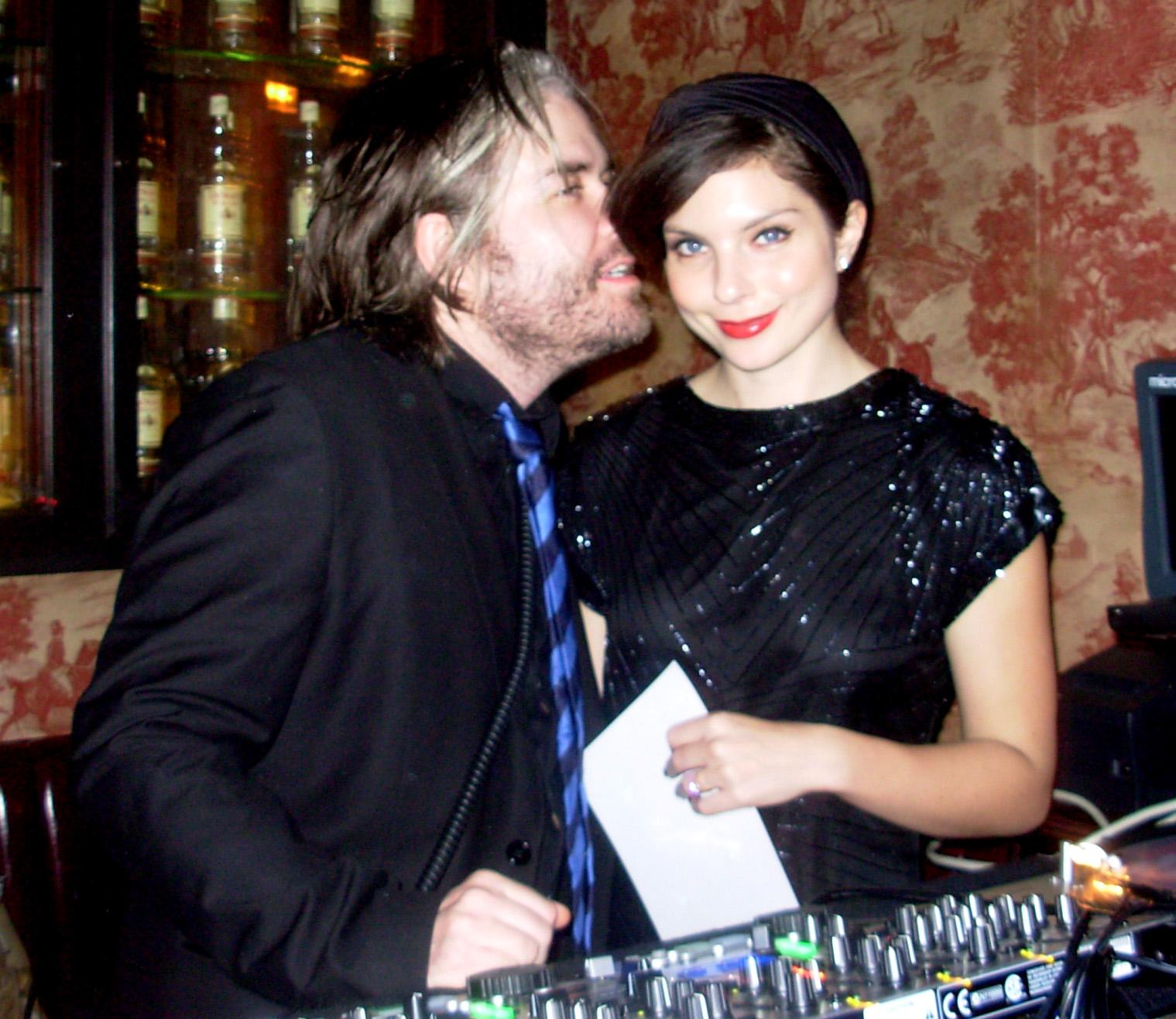 Chris Holmes and Daisy O'Dell