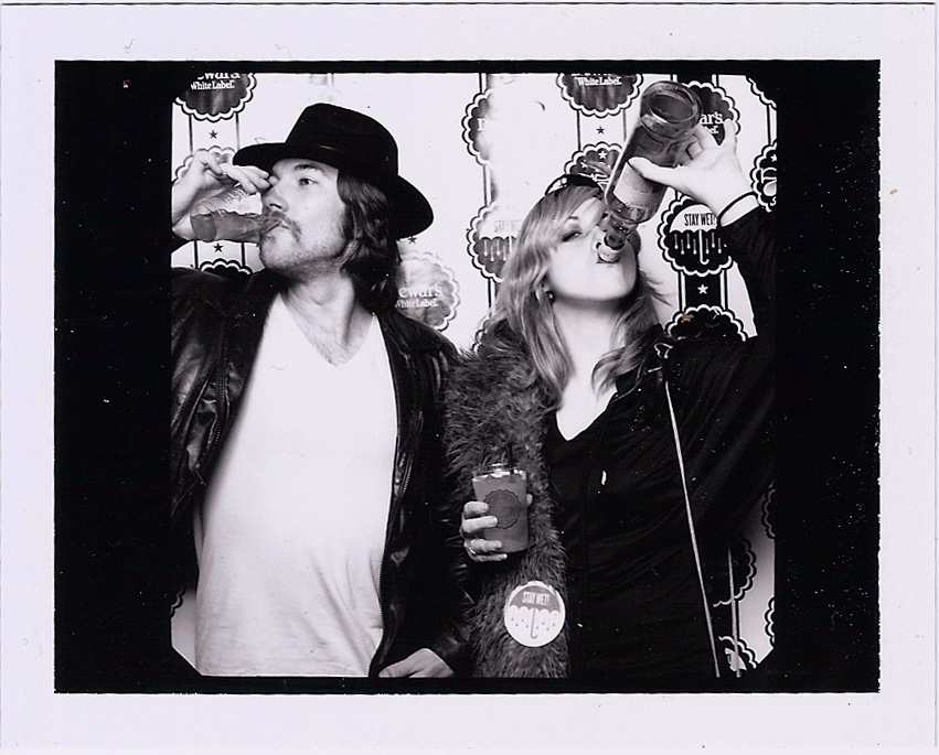 Dj Dirty Dave & Ali On The Air in Rony's photobooth