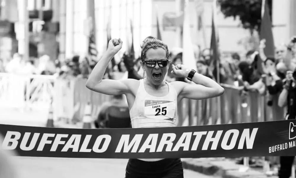 Laura Anderson, Buffalo Marathon