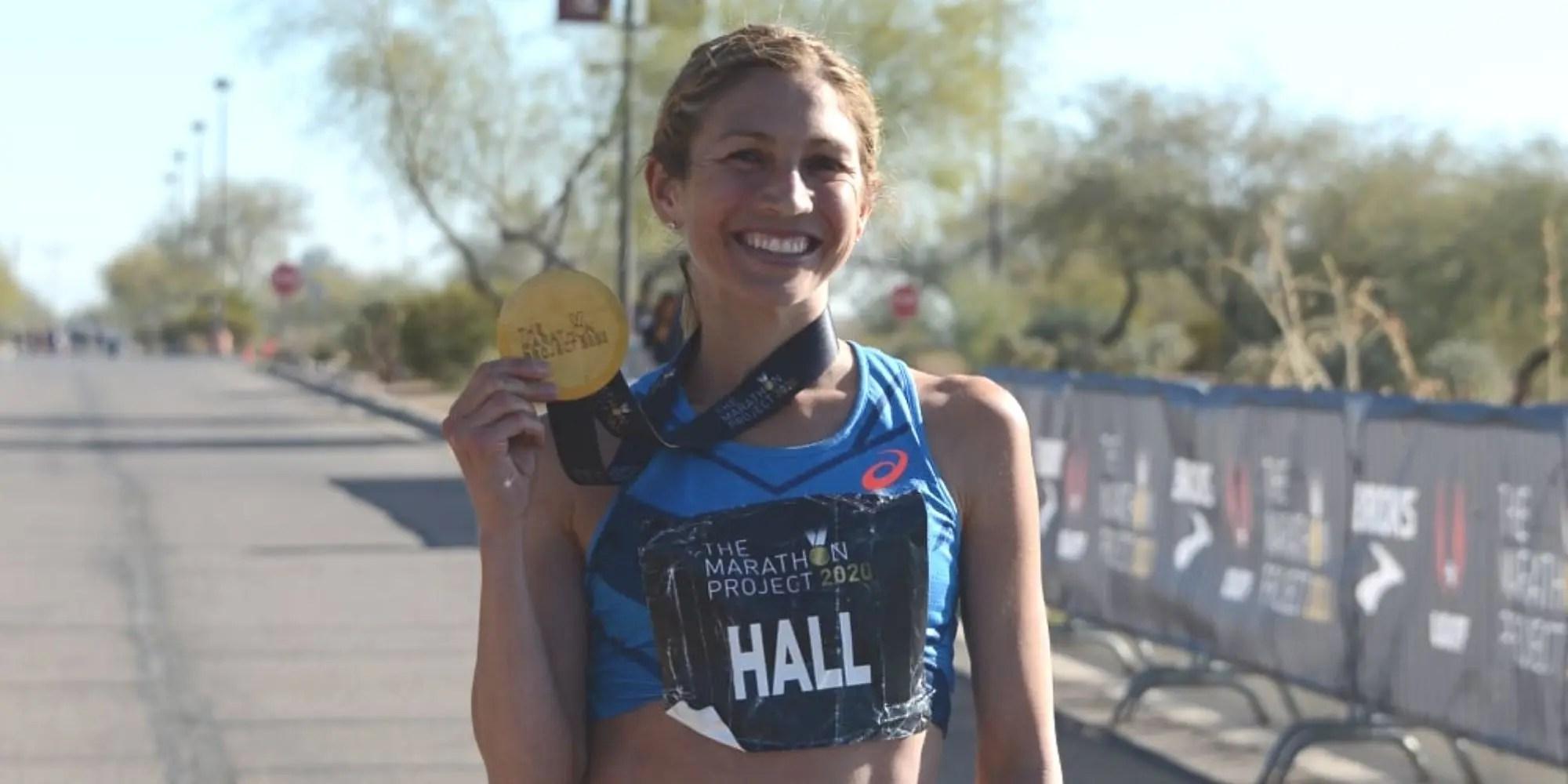Sara Hall, Marathon Project
