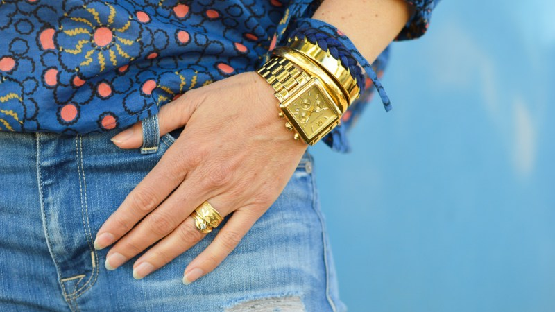 Gold Rings Ali Peat-