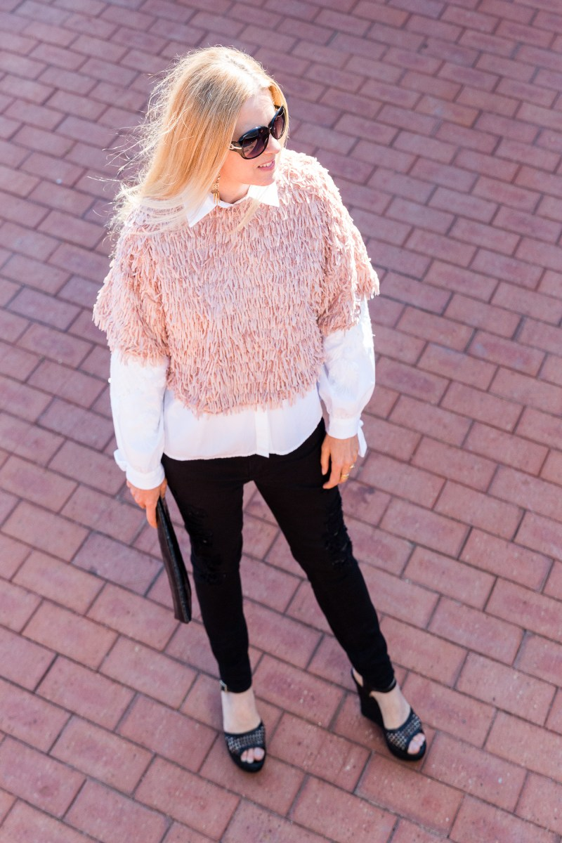 ZARA-pink-fringed-top-casual-style-ali peat