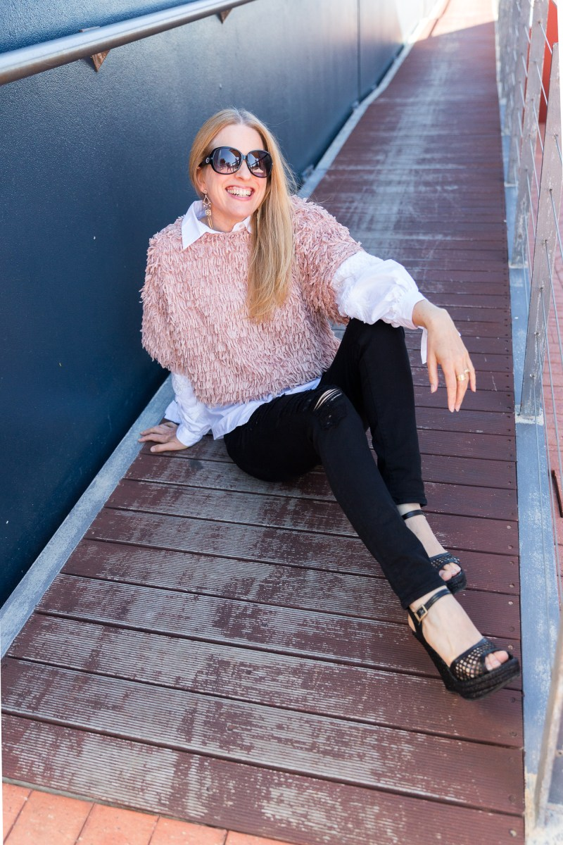ZARA-pink-fringed-top-casual-style-ali-peat.